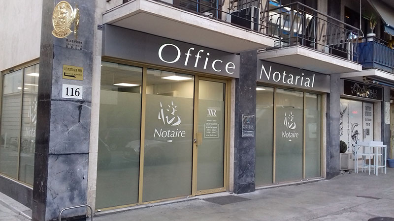 Enseigne Office Notarial 1