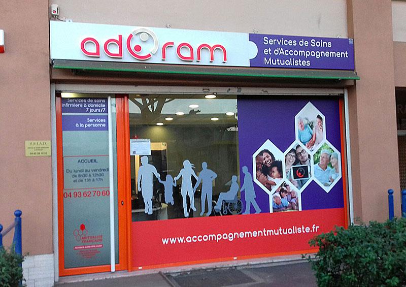 Enseigne Ad ram 1