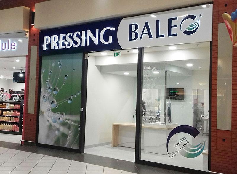 Enseigne Pressing BALEO 7