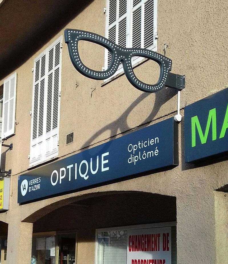Enseigne Optique 1